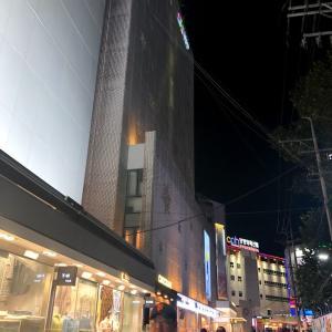 夜食でイイダコとサムギョプサル 野菜包みご飯定食・多菜東大門店へ行ってみた