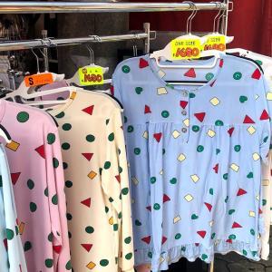 ふろともに大人気なコリアタウンで買ったクレヨンしんちゃんパジャマ