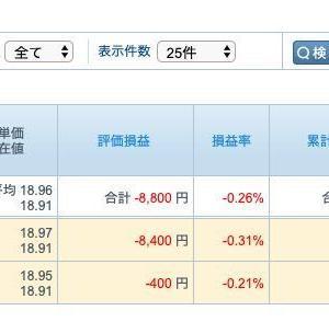 FX トルコリラ 令和元年11月18日 資産状況