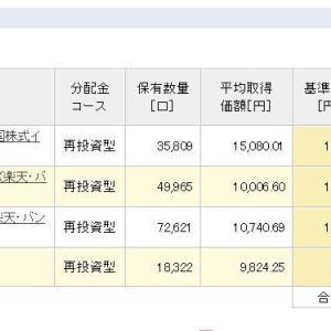 積立NISA 令和元年6月10日 資産状況