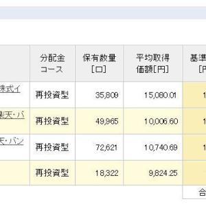 積立NISA 令和元年6月12日 資産状況