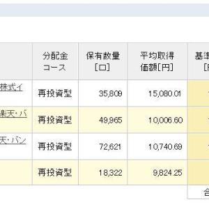 積立NISA 令和元年6月24日 資産状況