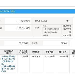 IDECO 令和元年7月9日 資産状況