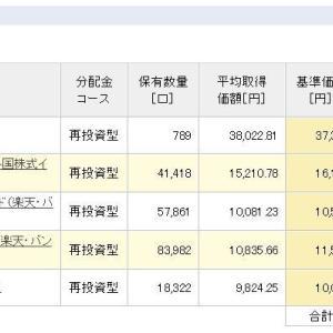 積立NISA 令和元年7月16日 資産状況