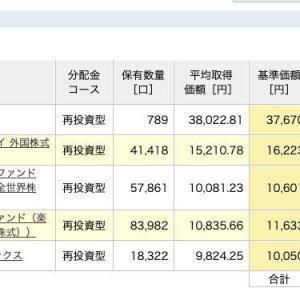 積立NISA 令和元年7月29日 資産状況