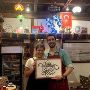 [トルコ家庭料理]Kafe Toruko(六本松)は、美味しくて楽しい空間♪