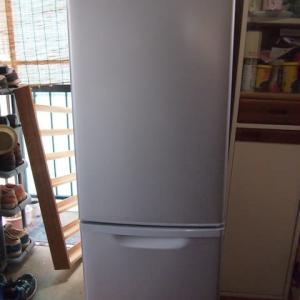 待望の冷蔵庫