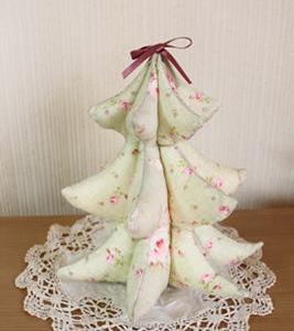 クリスマスツリー布作り方