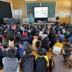 出前講座in福岡市立和白東小学校