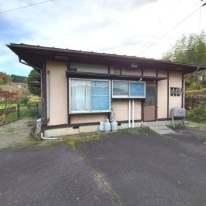 【売買】260万円 岐阜県中津川市落合 のどかな高台にある平屋 駐車3台 コンビニ近い