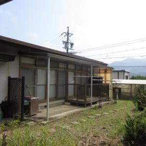 【売買】280万円 長野県東筑摩郡筑北村坂北 隣に公園がある 庭・別棟・物置付きコンパクト平屋 駐車3台