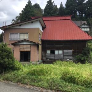 【売買】100万円 新潟県十日町市蓬平 静かな山集落 広い土間玄関・囲炉裏のある2階建古民家 農地相談可