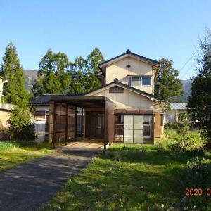 【売買】400万円 富山県南砺市谷 緑豊かな地域 詳細は要お問合せの2階建