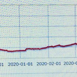 損益グラフ、1000万円突破!