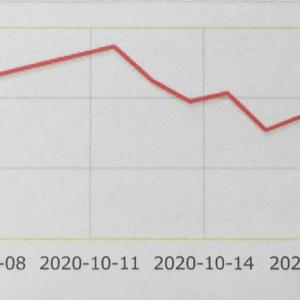 10月の損益グラフ