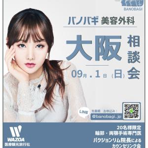 【お知らせ】09.01大阪カウンセリング会 ≪バノバギxWAZOA≫