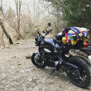 Z900RSでキャンプツーリング 道志の森キャンプ場