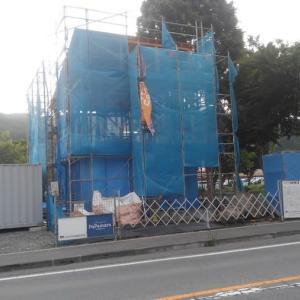 茅野市米沢でパパまるハウス上棟となりました。