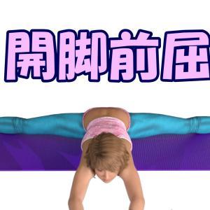 かたいヨギーナへ!開脚前屈(かいきゃくぜんくつ)ができるようになる方法