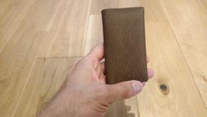 【ミニマリスト】楽天miniのカバーを納得いくように自作!スマホと財布をコンパクトに一体化してみた!【rakutenmini】