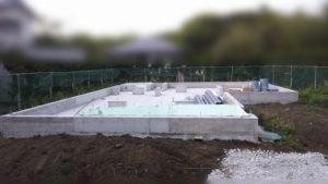 基礎が出来たよ!新築平屋一戸建て工事進捗状況報告会