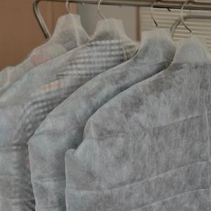 冬物のコートも自分でお手入れ