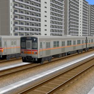 ★A列車で行こう9 テクスチャ貼替紹介★ ~東葉高速鉄道1000形を作ってみた~
