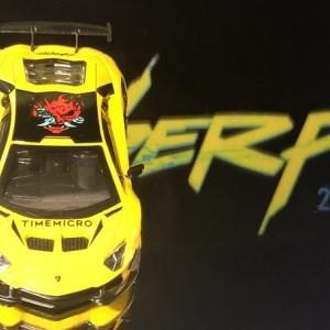 TIME  MICRO   Aventador  LP700  Cyberpunk  。