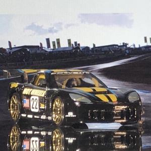 HW     T-HUNT  Corvette  C6R    。