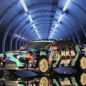 HW    SKYLINE  GT-R    (R32 HKS)  。