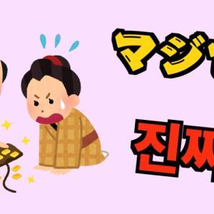 【韓国語で本当・マジで】진짜(チンチャ)・정말(チョンマル)の違い