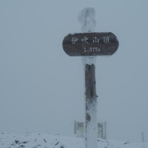初心者にオススメしたい雪山!冬の伊吹山を登ってきた