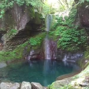 7月11日 今日のおしらじの滝
