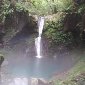9月18日 おしらじの滝(PM1:00)