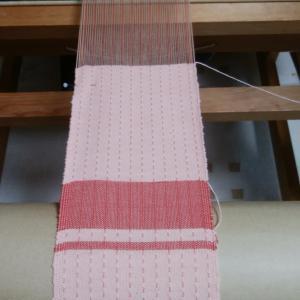 織りの続き。 ~織り~