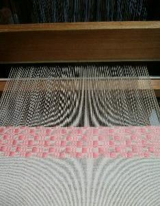 模様作りは奥深い ~織り~