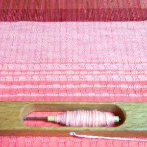 織り終わりまであと少し。~織り・その2~
