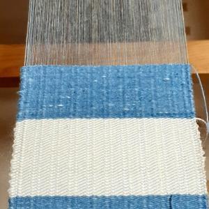 あともう少し。 ~織り~