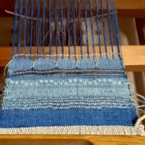 レース織りと捩り(もじり)織り