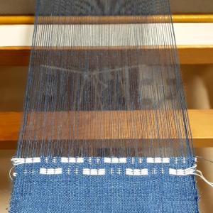 設定を変えてまた違う織り方へ。 ~織り~