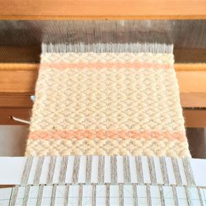織りあがり&房の始末