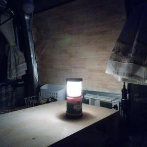 車中泊で『LEDランタンがまぶしい!』ときの解決方法