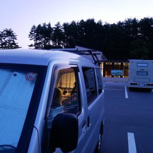 車中泊「道の駅」トイレは午前3時30分が落ち着けます。