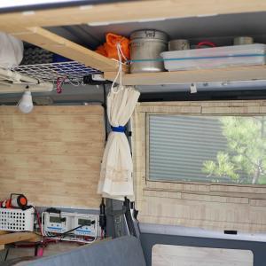 目隠しにもなる『車中泊用のプラダン網戸』簡単に自作する方法