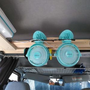 軽バン車中泊に便利!簡単『自作の天井収納』の作り方