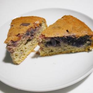 紫、ケーキになる