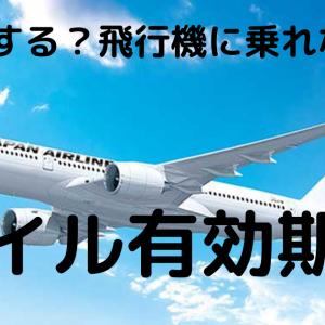 マイル期限大丈夫!?【ANA・JAL・BA】まだまだ飛行機に乗れないんですが!?