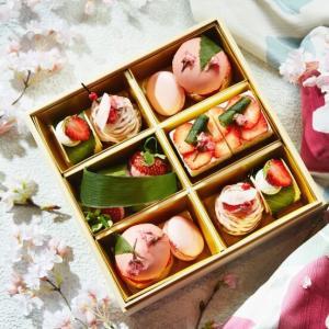 人気の「お花見スイーツボックス」で心躍る春の訪れを満喫!
