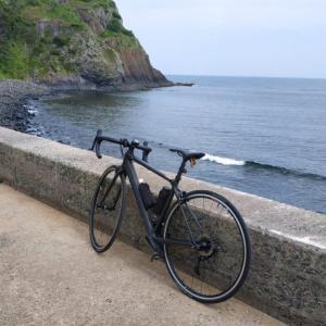 糸島一周と姉子の浜で101Kmソロライド