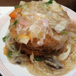 パリパリ皿うどんが食べたくなったので、ガッツリとリンガーハットの麺ダブルを所望